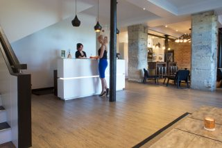 Speirs Wharf Office - Reception by Occa Design