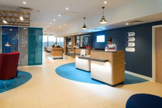 Holiday Inn Express Stockport - Reception by Occa Design