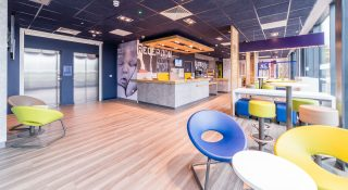 Ibis Budget Luton Airport - A brand roll out by Occa Design