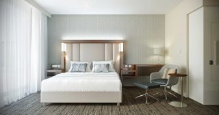 Courtyard By Marriott Heathrow - Bedroom by Occa Design